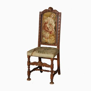 Baroque Chair with Tapestry