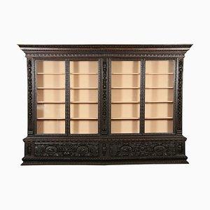 Baroque York Monastery Showcase Book Cabinet