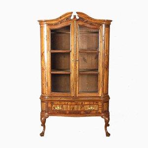 Small Baroque Walnut Cabinet, 18 Century