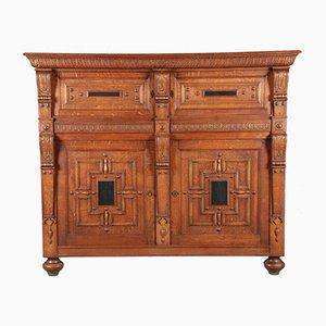 Gründerzeit Cabinet with 4 Doors, 19th Century