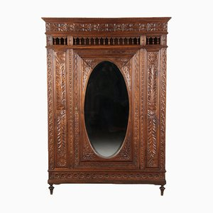 Brittany Historicism Cabinet with Mirror, 1900s