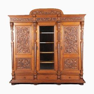 Wilhelminian Cabinet with 3 Doors