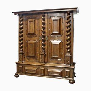 Baroque Renaissance Cabinet in Walnut, Basel, 1700s
