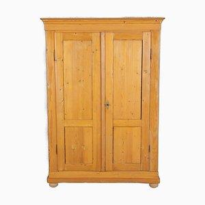 Biedermeier Softwood Cabinet, 19th Century