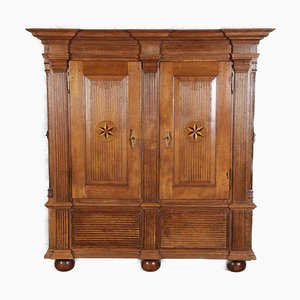 Baroque Louis Seize Fire Cabinet, Holland, 18th Century