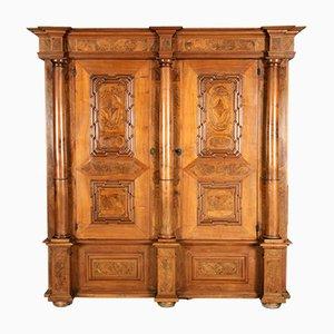 Baroque Cabinet in Walnut, Basel, 1720s