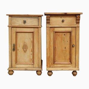 Softwood Bedside Cabinets, Set of 2