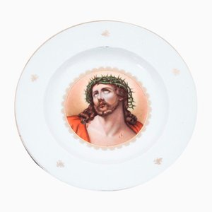 Plate with Image of Jesus from Rosenthal, Germany