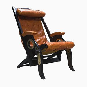 Reclining Campaign or Cruise Chairs by Herbert McNair, Set of 2