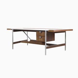 Vintage Rosewood Modernist Office Desk