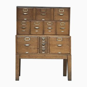 Vintage Filing or Stationary Cabinet on Legs