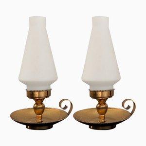 N.8054 Tischlampen von Stilnovo, 1950er, 2er Set