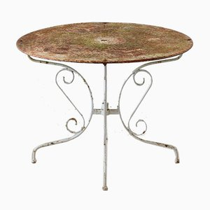 Patinated Garden Table