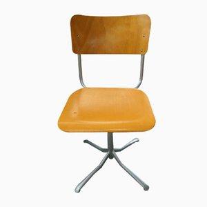Height-Adjustable Swivel Chair, 1970s