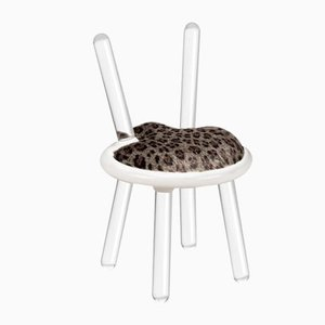 Chaise Leopard Illusion de Covet Paris