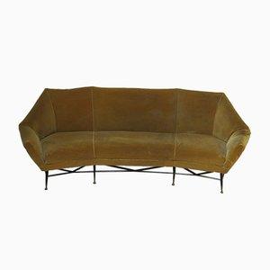 Geschwungenes Sofa von Saporiti Italia