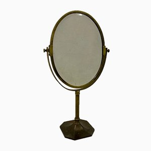 Early 20th Century Brass Table Mirror