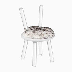 Illusion White Bear Chair from Covet Paris