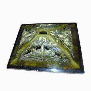 Industrial Art Nouveau Ceramic Tile
