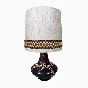 Large Pottery Table Lamp, Germany, 1960s