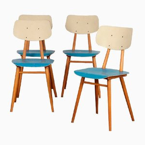 Vintage Chairs from TON, 1960s, Set of 4