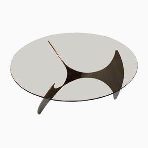 Propeller Coffee Table by Knut Hesterberg for Ronald Schmitt, 1960s