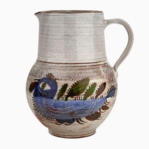 Ceramic Pitcher by Michel Barbier, 1960s