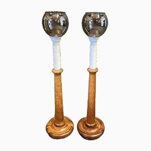 Scandinavian Lamps, 1950s, Set of 2