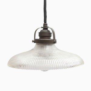 Art Nouveau Pendant Lamp from Holophane, 1920s