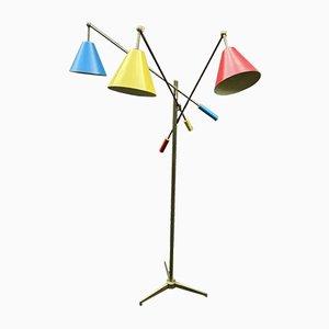 Model 12128 Triennale Floor Lamp by Angelo Lelli for Arredoluce, 1947