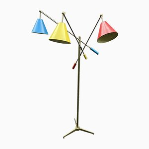 Modell 12128 Triennale Stehlampe von Angelo Lelli für Arredoluce, 1947
