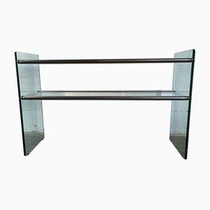 Glass Console by Pierangelo Gallotti for Gallotti & Radice, 1970s