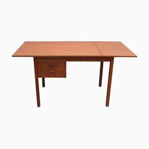 Dänischer Schreibtisch aus Teak mit Verlängerung, 1960er