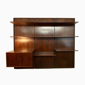 Wall Bookcase by Gianfranco Frattini for Bernini