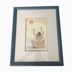 The Sun Catcher Print by Maxine Noel