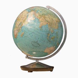 Mid-Century German Glass Globe with Illumination