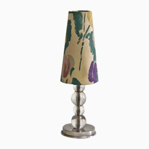 Vintage French Art Deco Table Lamp, 1940s