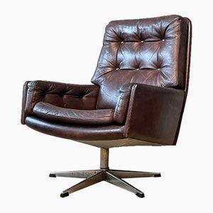 Danish Swivel Lounge Chair from Farstrup Møbler, 1960s