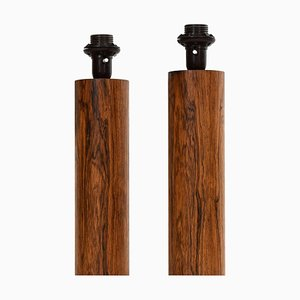 Table Lamps by Uno & Östen Kristiansson from Luxus, Set of 2