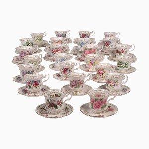 Porcelain Royal Albert Cup and Saucer Set
