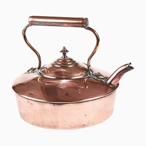 Viktorianischer Teekessel aus Kupfer