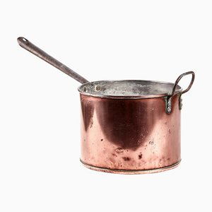 Georgian Antique Copper Saucepan