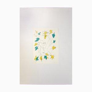 Giulio Turcato, Abstrakte Komposition, Siebdruck, 1970