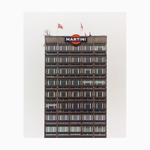 Graue Martini, Mailand, Architektonische Farbfotografie, 2019