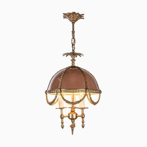 French Louis XV Style Bouillotte Chandelier