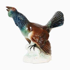 Figurina Gallo Gallo cedrone vintage di Cortendorf / Goebel Germany