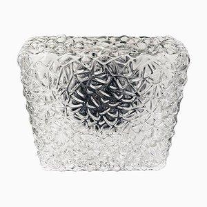 Pebble Glass Flush Mount Fixture by Rupert Nikoll, Austria