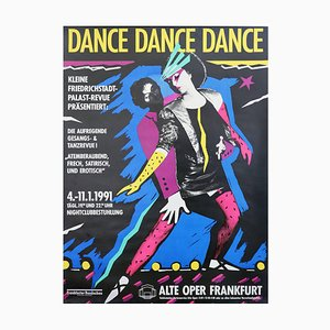 Dance Dance Dance, German Poster, 1991