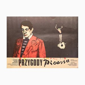 Adventures of Picasso, Polish Poster for the Swedish Film, 1979
