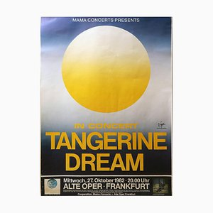 Tangerine Dream, Concert Poster, Alte Oper, Frankfurt, 1982